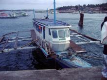 Такие лодки- единственный путь попасть на Боракай