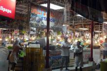 Ливень застал нас на рынке.Филипины, Боракай.